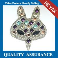 Wholesale D0930 YAX factory Wholesale sew on rhinestone patch on the garment from china suppliers