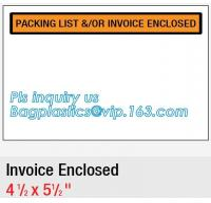 China FedEx packing list envelope adhesive tape bag Pressure Sensitive zip lock packing list envelope, Post Fedex Plastic Expr on sale