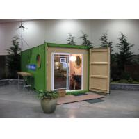 Wholesale Refrigerated Steel Refugee Shelter Modular Homes With Glass Door from china suppliers