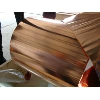 Wholesale High Flexibility Pure Copper Foil Sheet Roll For Electronic Appliance 0.010 * 250mm from china suppliers