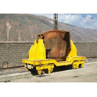 Wholesale Steel plant Heavy duty transport trolley on rails for molten steel handling from china suppliers