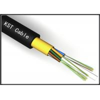 Wholesale Light Weight Dielectric Fiber Optic Cable Kevlar Yarn Aerial Optical Fiber Cable from china suppliers