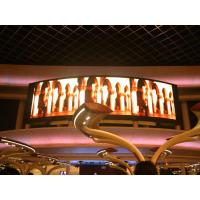 Wholesale Indoor Rubber P3 Flexible Led Screens / Round Curved Led Display Rental Show Advertising from china suppliers