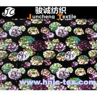 Wholesale 100% polyester printed velboa fabric/ penetration printing/ printed velvet/Blanket/Flower from china suppliers