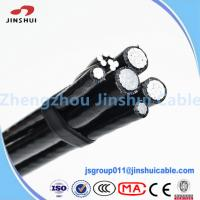 Wholesale Street Lighting Triplex Overhead Wire Aluminum Service Cable NASA IEC Standard from china suppliers