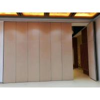 Wholesale Operable Office Partition Walls / Aluminium Track Rollers Interior Folding Sliding Doors from china suppliers