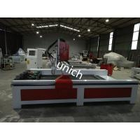 Wholesale Stone cnc router machine , cnc granite router with 4 spindle and rotary , cast iron bed from china suppliers