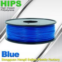Wholesale HIPS 3D Printer Filament 1.75 / 3.0mm  , Material for 3d printing Markerbot , RepRap from china suppliers