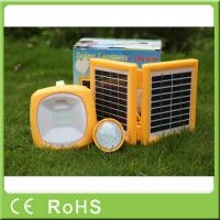 Wholesale China manufacturer 3.4W 9V with bulbs portable led solar rechargeable lantern from china suppliers