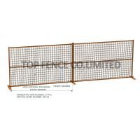 Wholesale Temporary Construction Security Fence 6ft x 10ft design for Ottawa from china suppliers