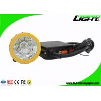 Buy cheap GL6-B ABS corded cap lamp 50000lux rechargeable headlamps for hunting from wholesalers