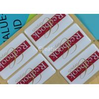 Wholesale Strong Adhesive Waterpoof Domed Decals Rectangle For Carpet Logo from china suppliers
