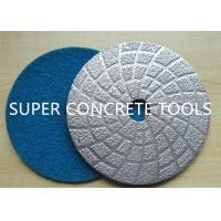 Wholesale Vacuum Brazed Diamond Polishing Discs Pads Floor grinding coating removal from china suppliers