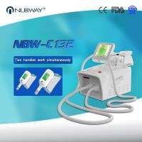 Buy cheap portable Desk Cryolipolysis fat freeze body slimming machine Coolsculpting equipment from wholesalers