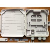 Wholesale Outdoor 8 Cores Fiber Optic Terminal Box For Wall Mount And Pole Mount from china suppliers