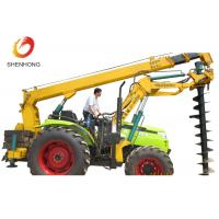 Buy cheap 100HP 8 Ton Tractor Crane Tower Erection Tools With Earth Auger from wholesalers