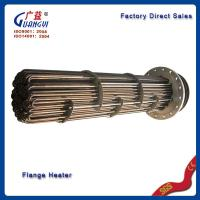 Wholesale electric finned flange heater from china suppliers