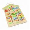 Buy cheap Wooden Educational Calendar Clock from wholesalers