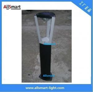 Wholesale Aluminum  H60cm 1W solar bollard lights solar garden lawn lights solar sensor lights from china suppliers