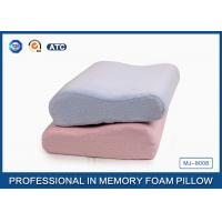 Wholesale Anti-mite Ergonomic Memory Foam Contour Pillow Back Sleeper for Cervical Spine from china suppliers