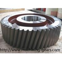 Wholesale Gearbox Parts Large Diameter Steel Helical Spur Gear For Automotive Industries from china suppliers