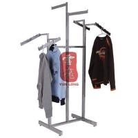 Wholesale Metal Clothing Display Stands Six Arms with Chorme Plating for Retail Store from china suppliers