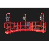 Wholesale Red Arc Adjustable High Working Steel Rope Suspended Platform Cardle for Construction from china suppliers