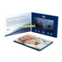 Wholesale Bespoke Personalized  Invitation Video Card Business Video Greeting Card from china suppliers