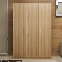 Wholesale Modern Bedroom Wardrobe Freestanding With Solid Wood Three Doors Non Toxic from china suppliers