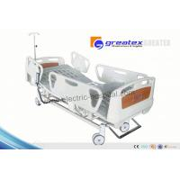 Wholesale Three fuction motorized patient hospital bed adjustable with remote Control from china suppliers