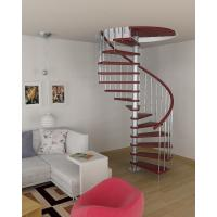 Wholesale Interior stainless steel wood staircase design from china suppliers