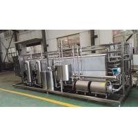 Wholesale 20 t / h Food Sterilization Equipment High Viscosity Products UHT Sterilizer from china suppliers