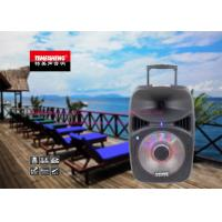 Wholesale 12 Inch Multifunctional Bluetooth Trolley Speaker System For Outdoor Party from china suppliers