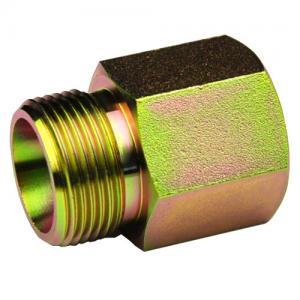 Metric Hydraulic Bsp Female Fitting DIN 3865 5CM / 5DM  Nickel Plated