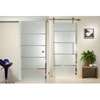 Wholesale Clear Float Durable Tempered Glass , Silkscreen Frosted Tempered Shower Glass Doors from china suppliers