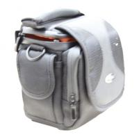 Wholesale Portable Black Fabric Thick Water Proof Sponge Nylon Camera Bag With Orange Velvet Lining from china suppliers