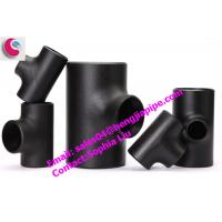 Wholesale ANSI B16.9 pipe fittings pipe tee from china suppliers