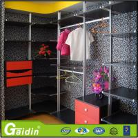 Wholesale hottest luxury aluminum profile modern design bedroom furniture cloth modular wardrobe from china suppliers