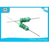 Wholesale Green LGA Color Code Fixed Inductor Small Size 0204 - 0510 With Epoxy Resin Coating from china suppliers