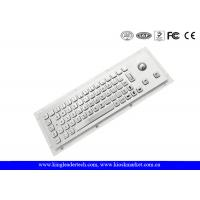Wholesale Rugged Waterproof Industrial Computer Keyboard In Metal With Integrated Trackball from china suppliers