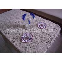 Wholesale Square Knitted Table Runners Circle Crochet Christmas Table Runner With Tassels from china suppliers