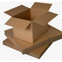 Wholesale Small Recycled Cardboard Storage Boxes With Lids UV Coating OEM Service from china suppliers