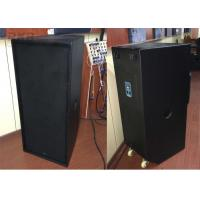 "Wholesale 2 X 15 "" High Power Two Way Full Range Speaker Live Sound Reinforcement For Vocal from china suppliers"