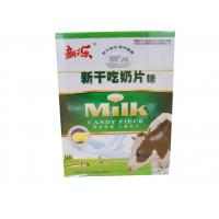 Wholesale Evaporated Milk Tablet Candy Pink / Yellow Zero Calorie Cow Milk Tablets from china suppliers