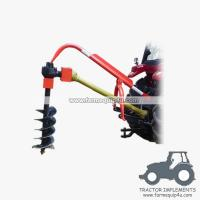 Wholesale 3point hitch tractor post hole digger with different sizes Augers available from china suppliers