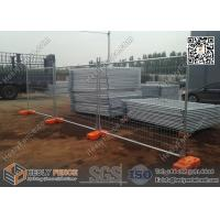 Wholesale Mobile Tempoary Fencing Panels with Plastic Feet  | Australia Temporary Fence Hire Company from china suppliers