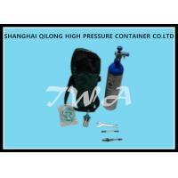 Wholesale Scba 1.5-12L Aluminum Pressure Tank / Life Gas Oxygen Cylinder from china suppliers