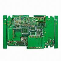 Quality Multilayer PCB with Electronic Flash Gold and 8mil Hole Size for sale