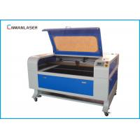 Wholesale Granite Stone Desktop 100w CO2 Laser Engeraving Machine With Water Chiller from china suppliers