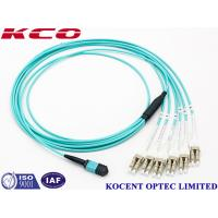 Wholesale Switchable LC Uniboot MPO Multimode Fiber Optic Patch Cord OM1 OM2 OM3 OM4 from china suppliers